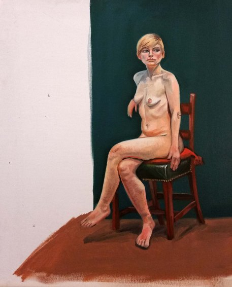 nude life painting